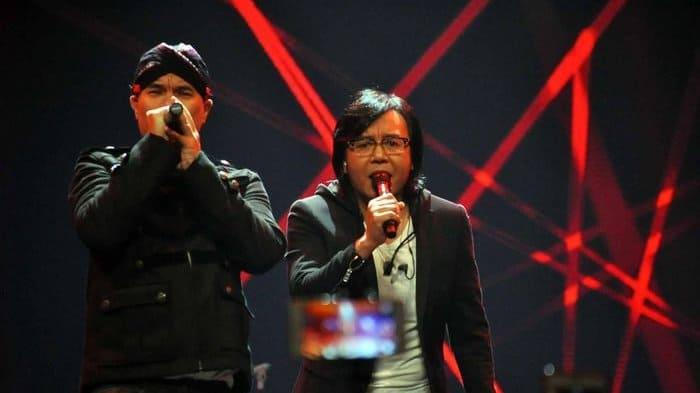 Ahmad Dhani dan Ari Lasso
