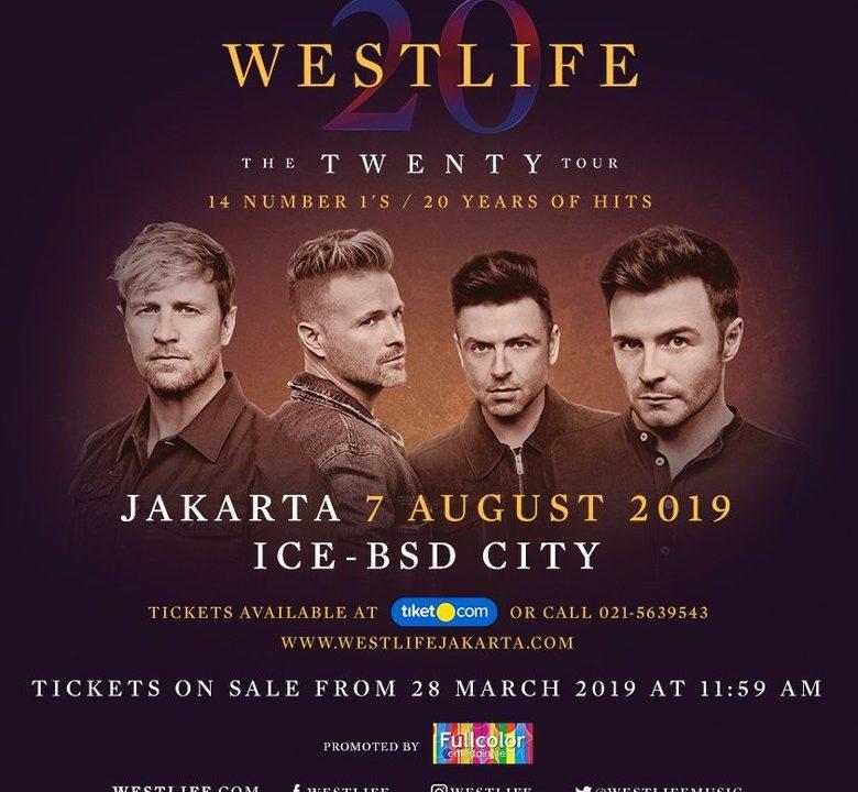 Tiket Konser Umtuk Tambahan Westlife Dibuka Besok