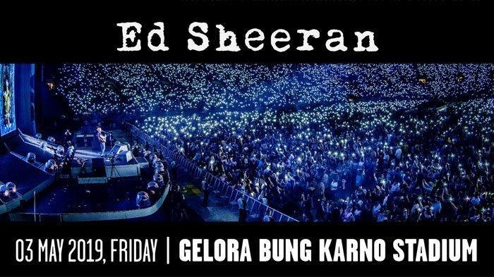 Ed Sheeran Konser Divide World Tour 2019