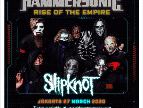 Slipknot Jadi Headliner Pada Hammersonic 2020
